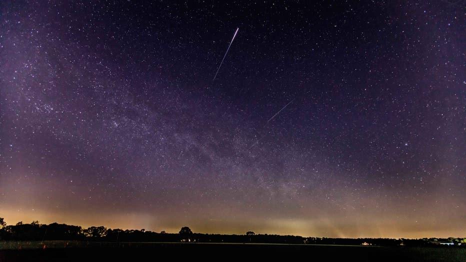 Meteor shower lyrids