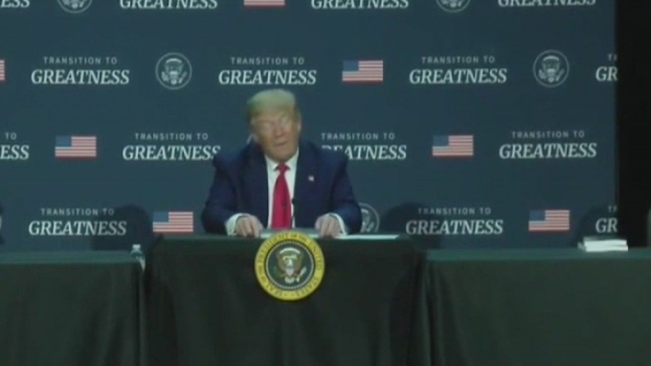 President Trump says Texans are begging for the next hurricane and more money
