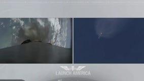 NASA celebrates successful docking of Space X's Crew Dragon