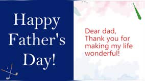 Send your dad a virtual Father's Day message