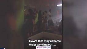Houston nightclub defies governor's shutdown orders, stays open