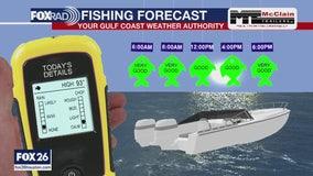 Fishing forecast for Sunday, June 14