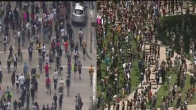 Houston protest arrests totaled more than 400 for the weekend