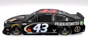 NASCAR driver Bubba Wallace set to drive car with #BlackLivesMatter paint scheme at Wednesday race
