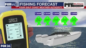 Fishing forecast for Saturday June 27