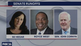One on one with Democratic Primary runoff candidates MJ Hegar and Royce West, who will face Cornyn?