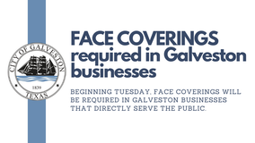 Galveston issues order requiring face coverings in businesses