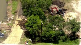 Thousands of gallons of oil illegally buried in Crosby, investigation underway