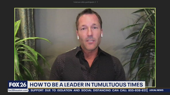 Being a leader in tumultuous times