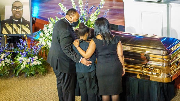 Celebrities, activists, others gather to remember George Floyd in Minneapolis