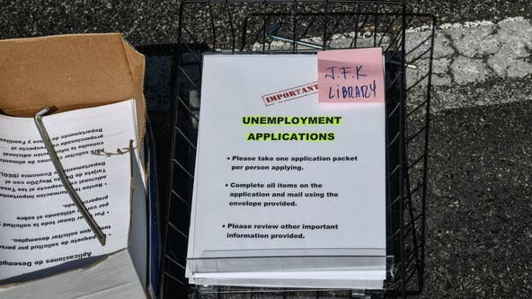 US unemployment drops unexpectedly to 13.3% amid outbreak