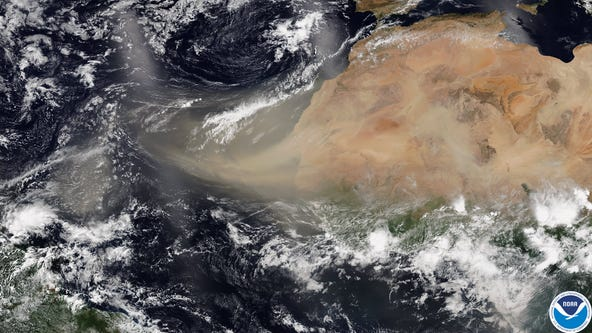 Another round of Saharan dust reaches the U.S. after 1st huge plume dissipates