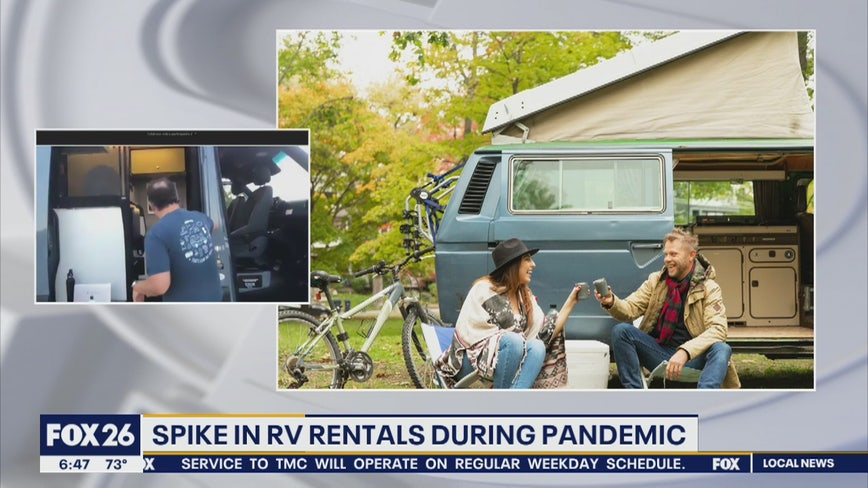 RV rentals soaring during the pandemic