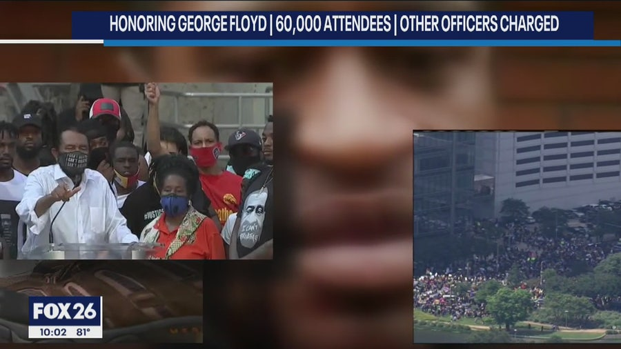 60,000 march for George Floyd