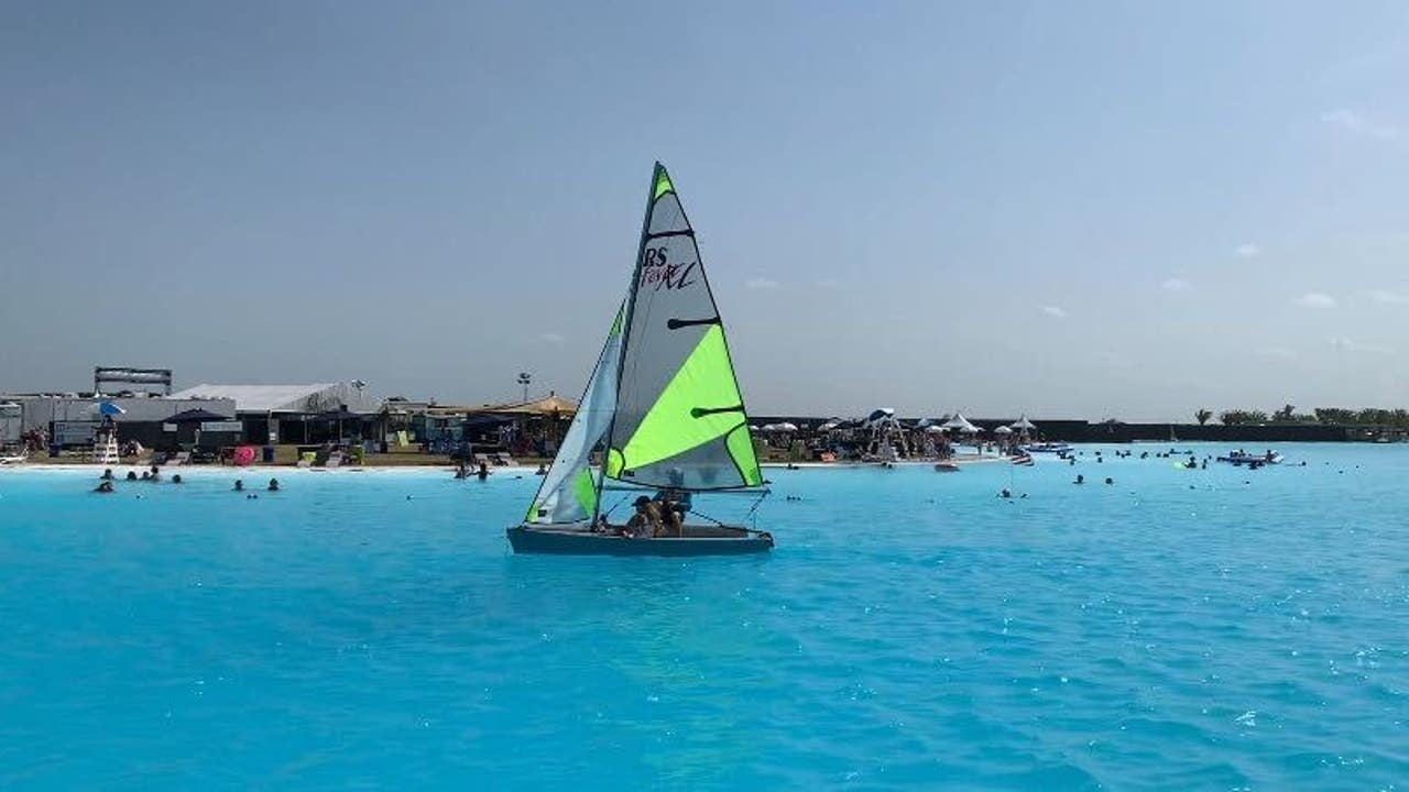 Summer Lagoonfest Texas Largest Crystal Lagoon Opens In Texas City July 15