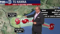 Tropical Depression 8 upgraded to Tropical Storm Hanna