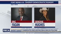 Primary runoff races for sheriff candidates in Fort Bend and Harris counties