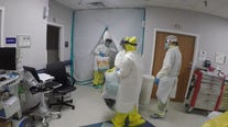 United Memorial Medical Center's COVID-19 ward at 95 percent capacity
