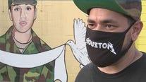 Mural for Vanessa Guillen draws in crowds