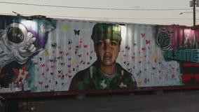 New mural going up honoring Vanessa Guillen