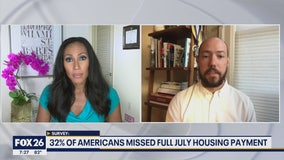 Survey: 32 percent of Americans full July housing payment
