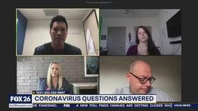 Viewers' coronavirus questions answered