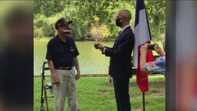WWII veteran receives French legion of honor for actions during D-Day