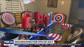 Decorating for Fourth of July