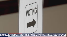 Record early voter turnout for primary runoff election