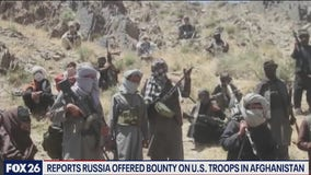 Russia allegedly offered a bounty on U.S. troops in Afghanistan