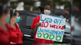 Jobless claims rise as cutoff of extra $600 benefit nears
