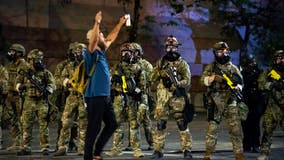 Heavily armed US agents on city streets: Can Trump do that?
