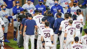 Astros manager fined following bench-clearing incident