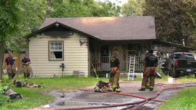 One person injured in morning house fire in Houston