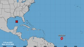 Hurricane Douglas becomes 1st of season in eastern Pacific as Gonzalo brews in Atlantic