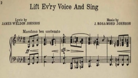 Created more than a century ago hymn 'Lift Every Voice and Sing' ignites hope across the nation