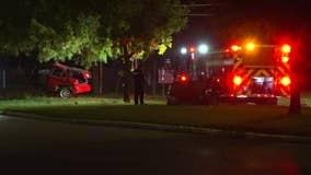 Driver killed in crash that split car in half in northwest Houston