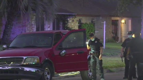 Woman grazed by bullet following road rage incident in Houston