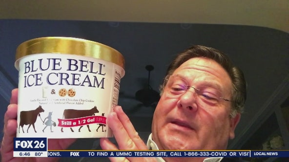 Blue Bell brings back Milk and Cookies Ice Cream