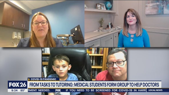 From tasks to tutoring: Medical students form group to help doctors