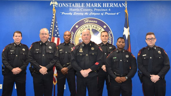 Harris County Precinct 4 Constable's Office welcomes six new deputies