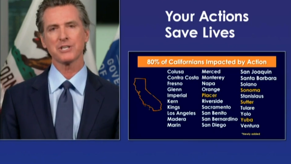Newsom: All California counties must shutter certain indoor activities