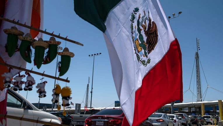 GETTY Mexico-US Border Crossing 070320