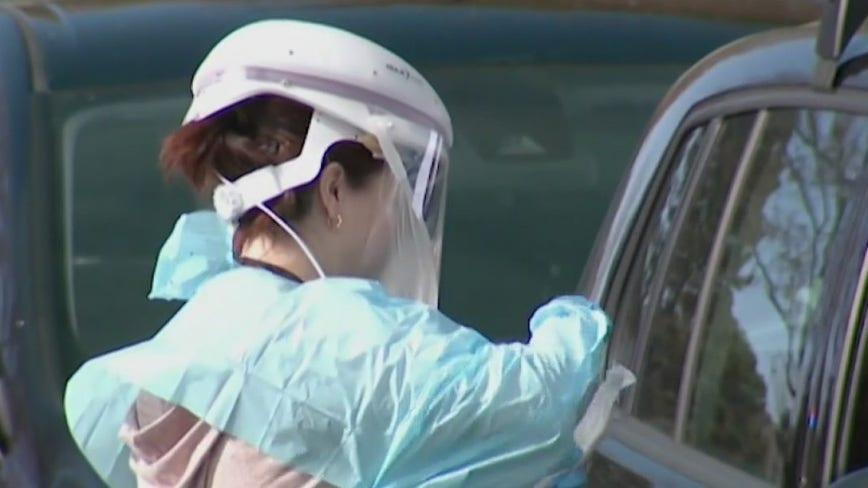 Department of Defense medical task force arrives in Houston