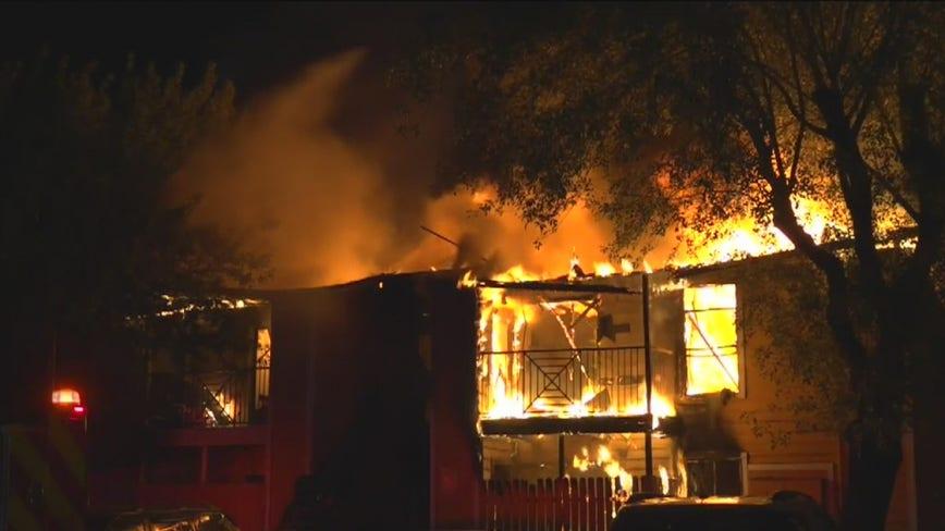 2-alarm fire in Aldine damages more than a dozen apartment units