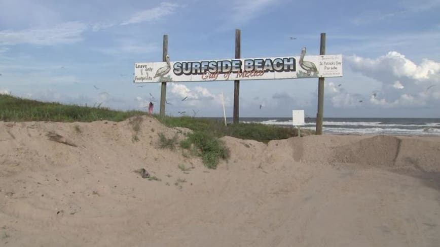 Brazoria County limiting access to beaches during Fourth of July weekend