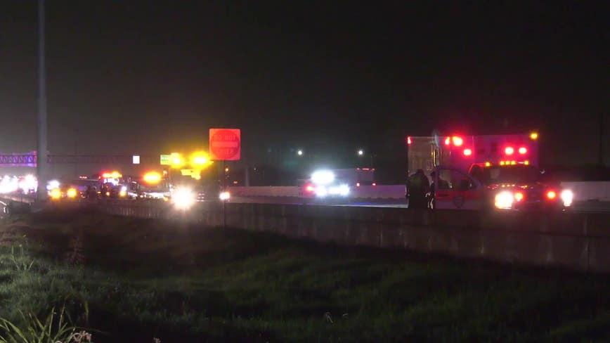 Motorcyclist dies in crash with wrecker truck on Gulf Freeway