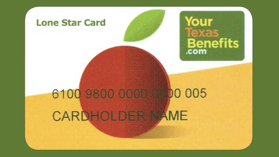 SNAP benefits Lone Star Card