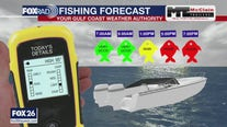 Fishing forecast Sunday, August 2