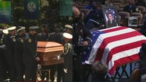 Two Houston-area first responders laid to rest